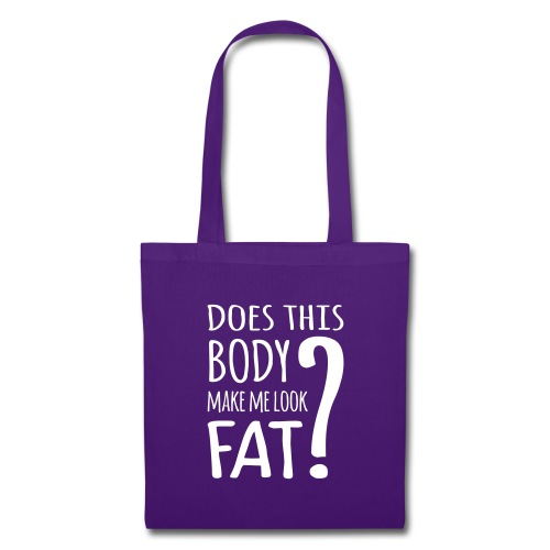 Does This Body Make Me Look Fat? Bags & Backpacks - Tote Bag
