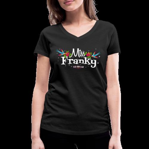 Miss Francky - T-shirt bio col V Stanley & Stella Femme