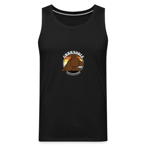 T-shirt sans manche GRRRNOBLE BEAR ASSOCIATION - Débardeur Premium Homme