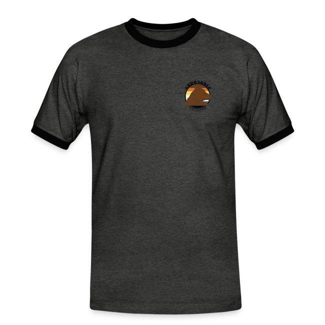 "T-shirt avec dos ""Si je grossis"""
