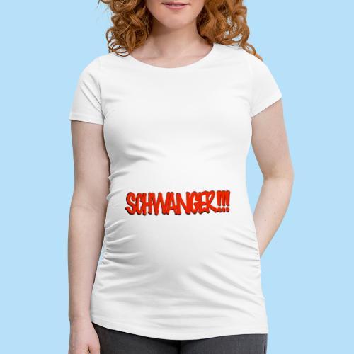 mama - Frauen Schwangerschafts-T-Shirt