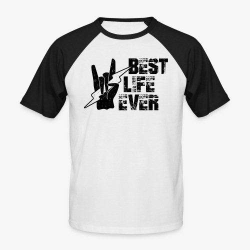NB Baseball-Shirt Men Best Life - Männer Baseball-T-Shirt