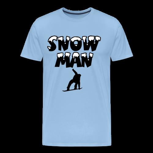 Snowman Snowboard Snowboarder