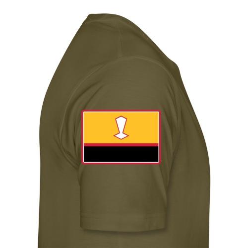 CITUDEF contour tycout vert militaire - T-shirt Premium Homme