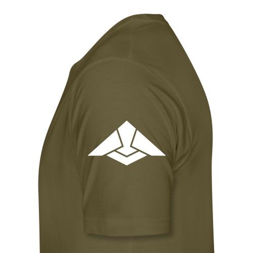 CITUDEF blanc tycout vert militaire - T-shirt Premium Homme
