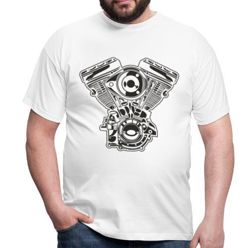 Motor moto - Camiseta hombre
