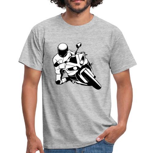 Motociclista - Camiseta hombre