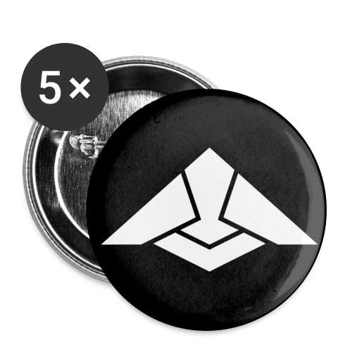 Citudef badge - Lot de 5 grands badges (56 mm)