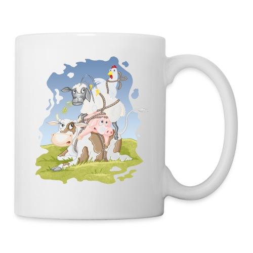 eierlegende Wollmilchsau - Tasse weiß - Tasse