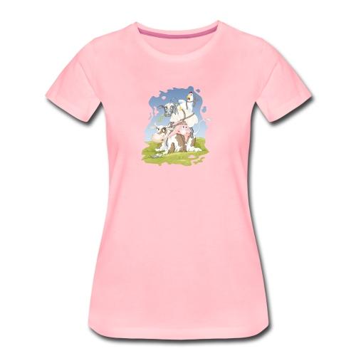 eierlegende Wollmilchsau - Frauen Premium T-SHirt - Frauen Premium T-Shirt