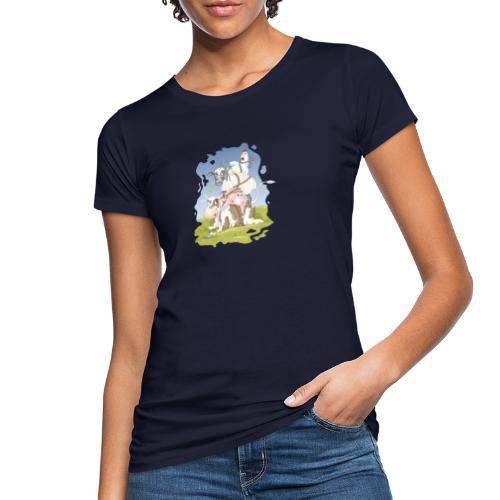 eierlegende Wollmilchsau - Frauen Bio-T-Shirt - Frauen Bio-T-Shirt