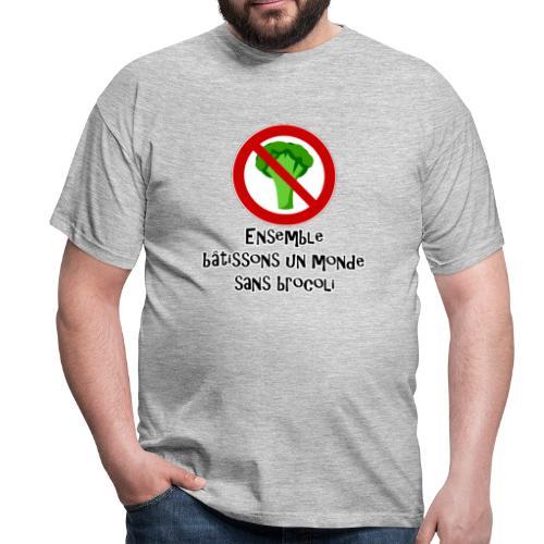 Monde sans brocoli - T-shirt Homme