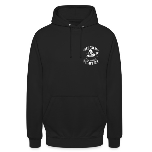 Hoodie Vegan fighter  - Sweat-shirt à capuche unisexe