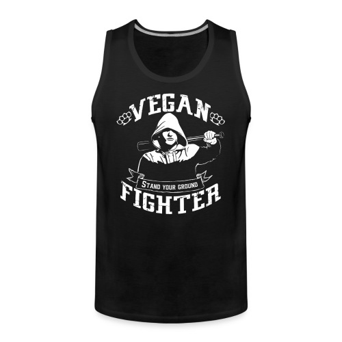 Vegan fighter tank top - Débardeur Premium Homme