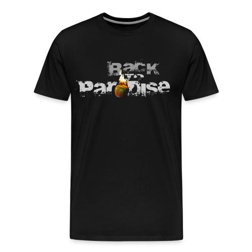 T-Shirt - beidseitig bedruckt - Männer Premium T-Shirt