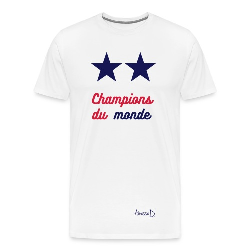Tee-Shirt homme Champions Ainesse D - T-shirt Premium Homme