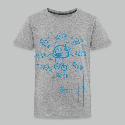 Kids - Robot & UFO from Angeland - Kids' Premium T-Shirt