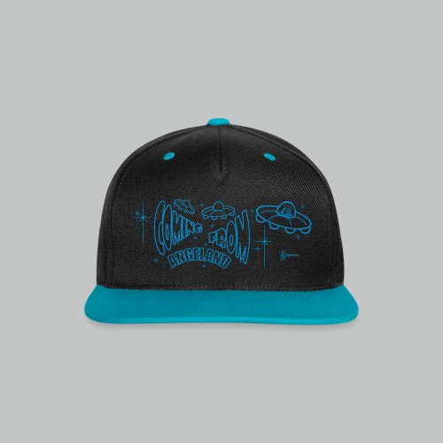Coming From Angeland Cap 1 - Contrast Snapback Cap