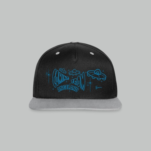 Coming From Angeland Cap 2 - Contrast Snapback Cap