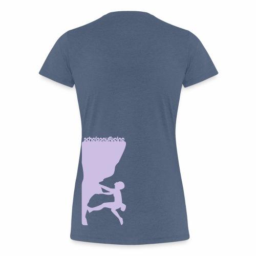 scheissaufbeine Frauen Premium Shirt - Frauen Premium T-Shirt