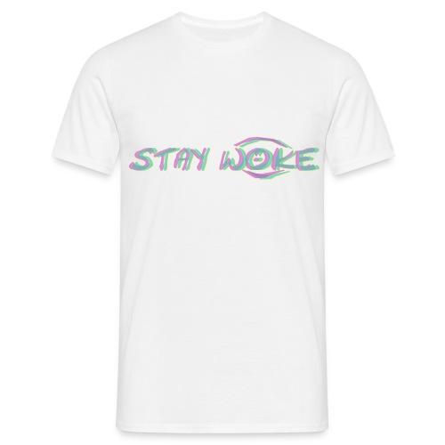 Stay Woke Standard T-Shirt - Männer T-Shirt