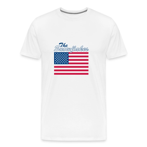 T Shirt of The Snowflakes - Men's Premium T-Shirt