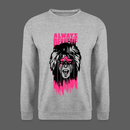 Ultimate Warrior Always Believe Paint Run Sweatshirt - Men's Sweatshirt