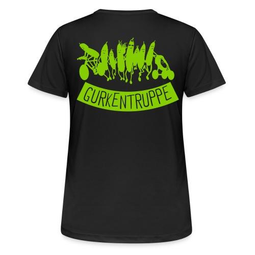Gurkentruppe Girl - Frauen T-Shirt atmungsaktiv