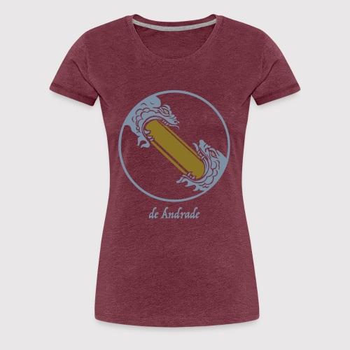 de Andrade - Frauen Premium T-Shirt