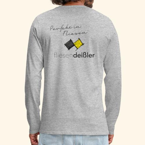 Deissler Langarm - Männer Premium Langarmshirt