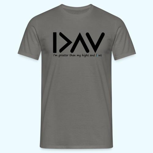 Highs and lows Mens Tshirt - T-shirt herr
