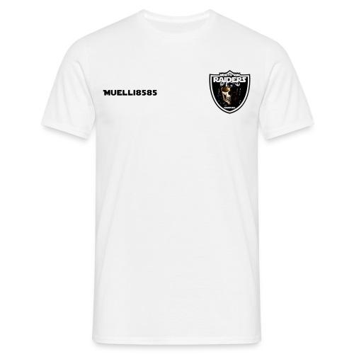 NRR Teamshirt Muelli8585 Weiss - Männer T-Shirt