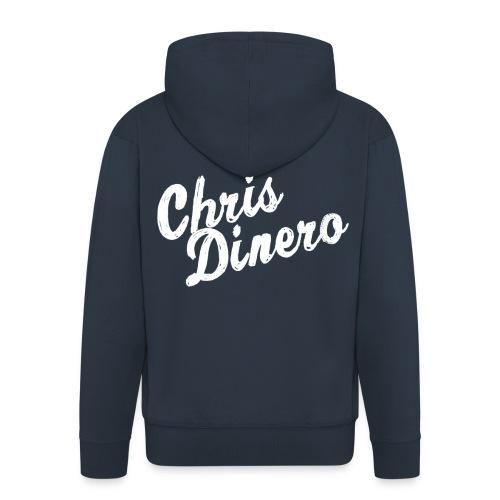 Chris Dinero Kaputzenjacke - Männer Premium Kapuzenjacke