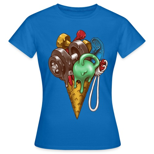 Ice Cream Workout T-Shirts - Women's T-Shirt