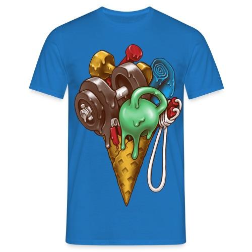 Ice Cream Workout T-Shirts - Men's T-Shirt