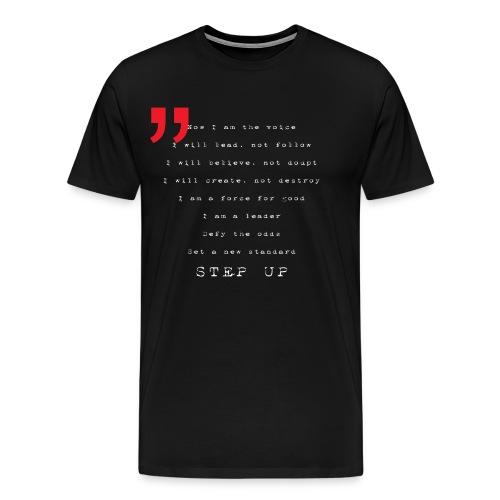 Now I am the voice WHITE - Männer Premium T-Shirt