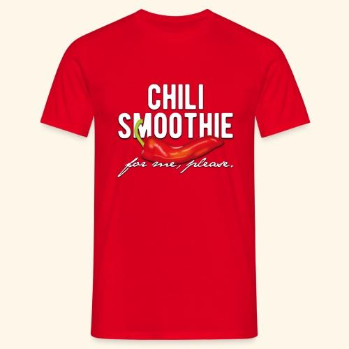 Chili Pepper T-Shirt Chili Smoothie - Männer T-Shirt