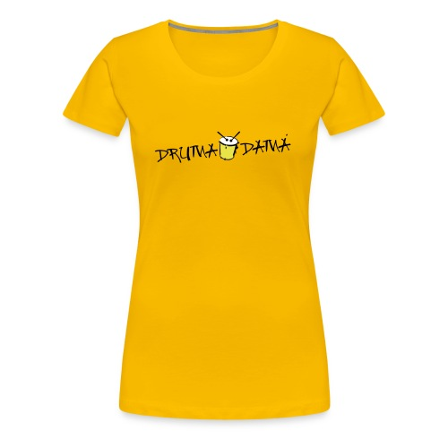 GELBES SHIRT - Frauen Premium T-Shirt