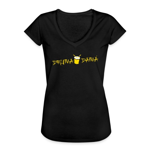 Vintage - Frauen Vintage T-Shirt