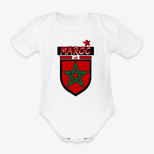 marocain et fier  Bodys Bébés - Body bébé bio manches courtes