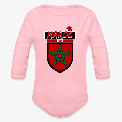 marocain et fier  Bodys Bébés - Body bébé bio manches longues