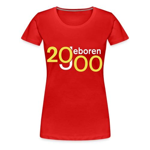 Jahrgang 2000 geboren - Frauen Premium T-Shirt