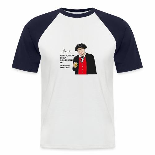 Kerwe Shirt 2018 - Typ 2 - Männer Baseball-T-Shirt