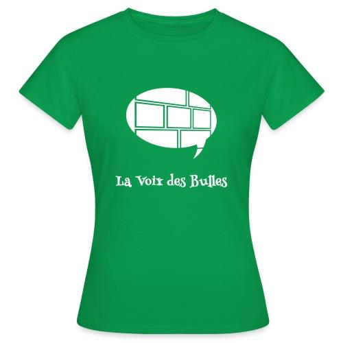 T-shirt Femme - Le t-shirt officiel de la Voix des Bulles !