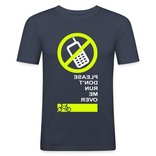 Please Don't Run Me Over - Men's Slim Fit T-Shirt
