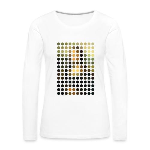 Mona Dots - Women's Premium Longsleeve Shirt