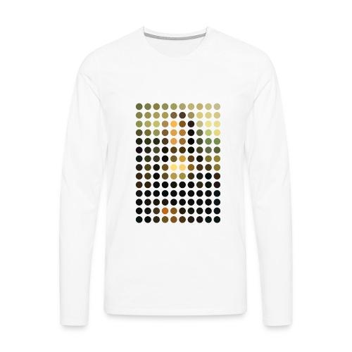 Mona Dots - Men's Premium Longsleeve Shirt
