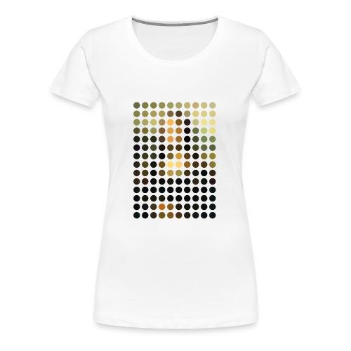 Mona Dots - Women's Premium T-Shirt