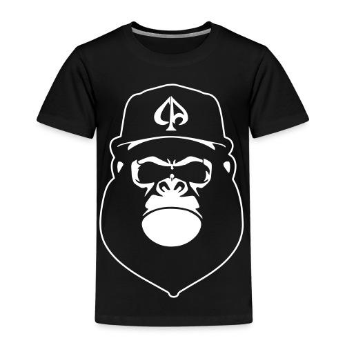 Black/White (Kids) - Kinder Premium T-Shirt