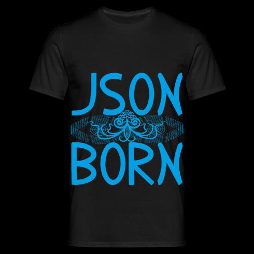 JSON BORN (BLUE) - Men's T-Shirt